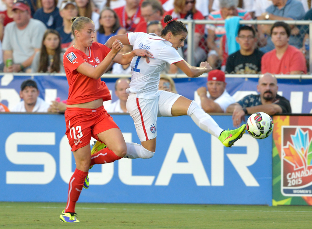 Local star Ali Krieger takes aim at World Cup title | WTOP
