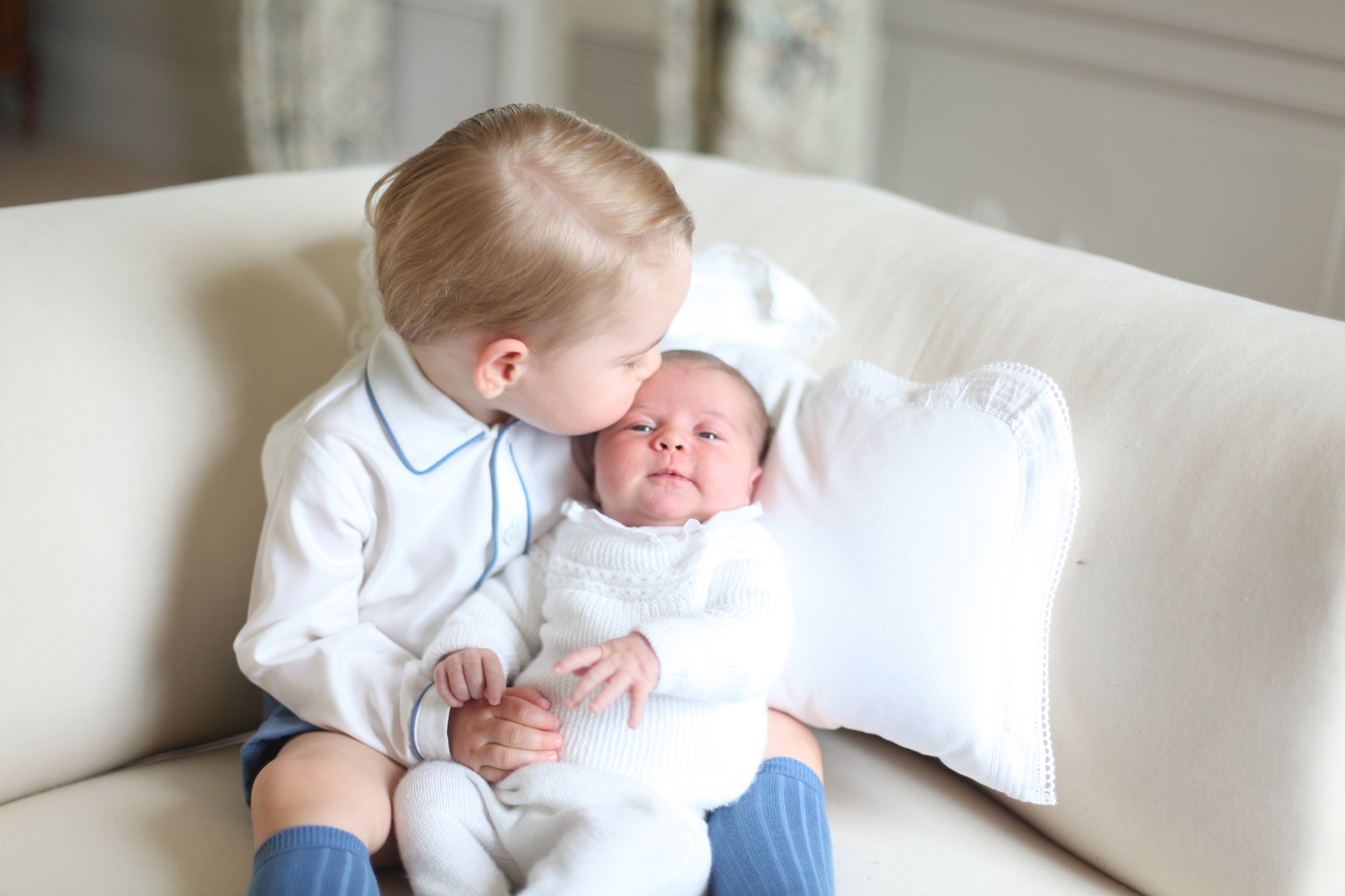 Princess Charlotte first official photos issued by UK palace