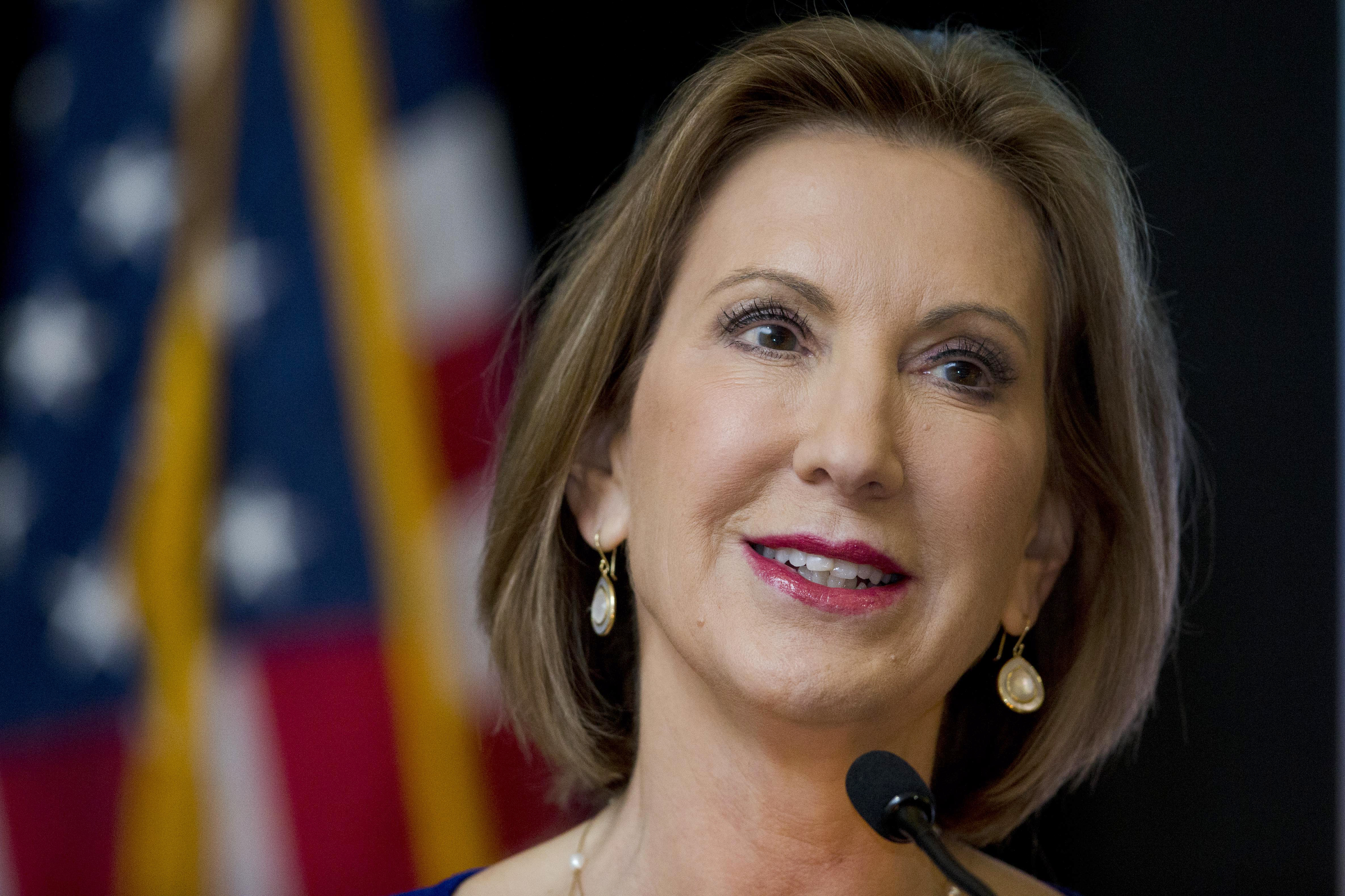 Poll: Carly Fiorina's supporters have the best spelling and grammar