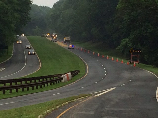 George Washington Parkway reopens