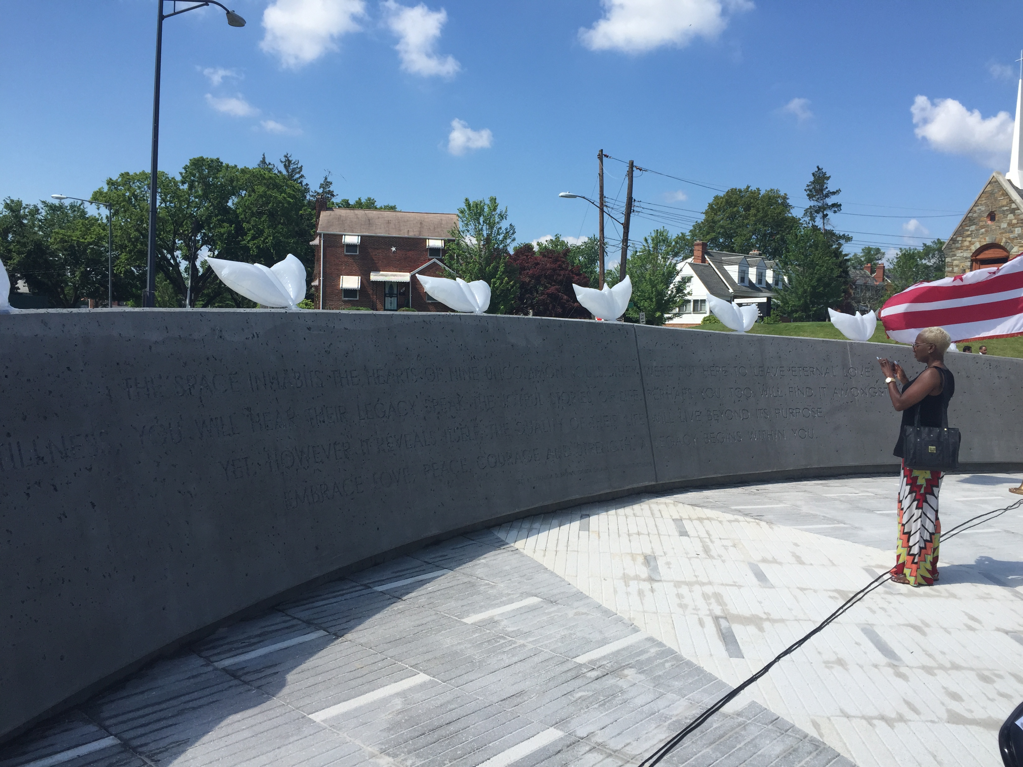 D.C. opens memorial to 9 killed in 2009 Red Line crash