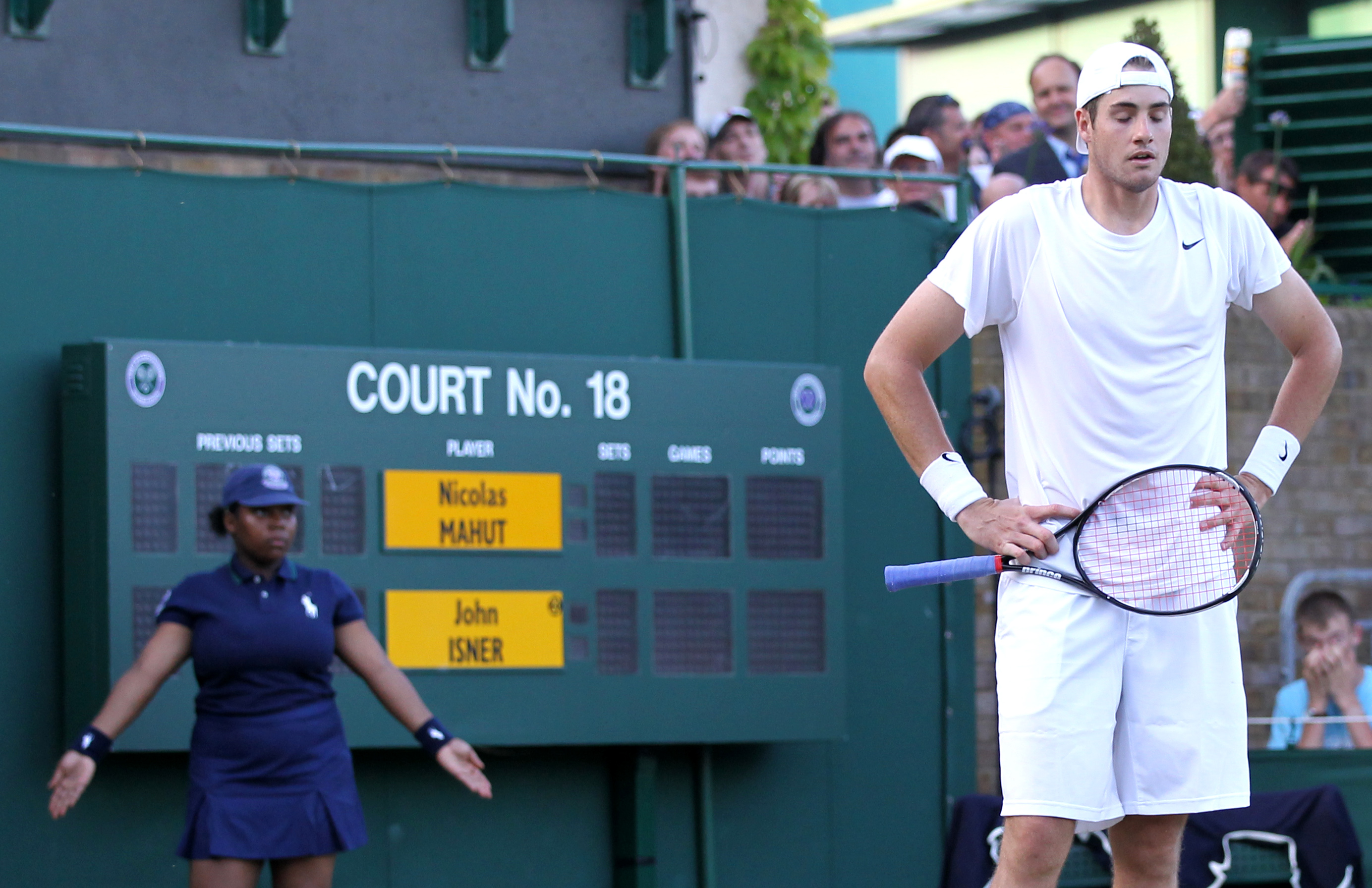 Images from Isner-Mahut
