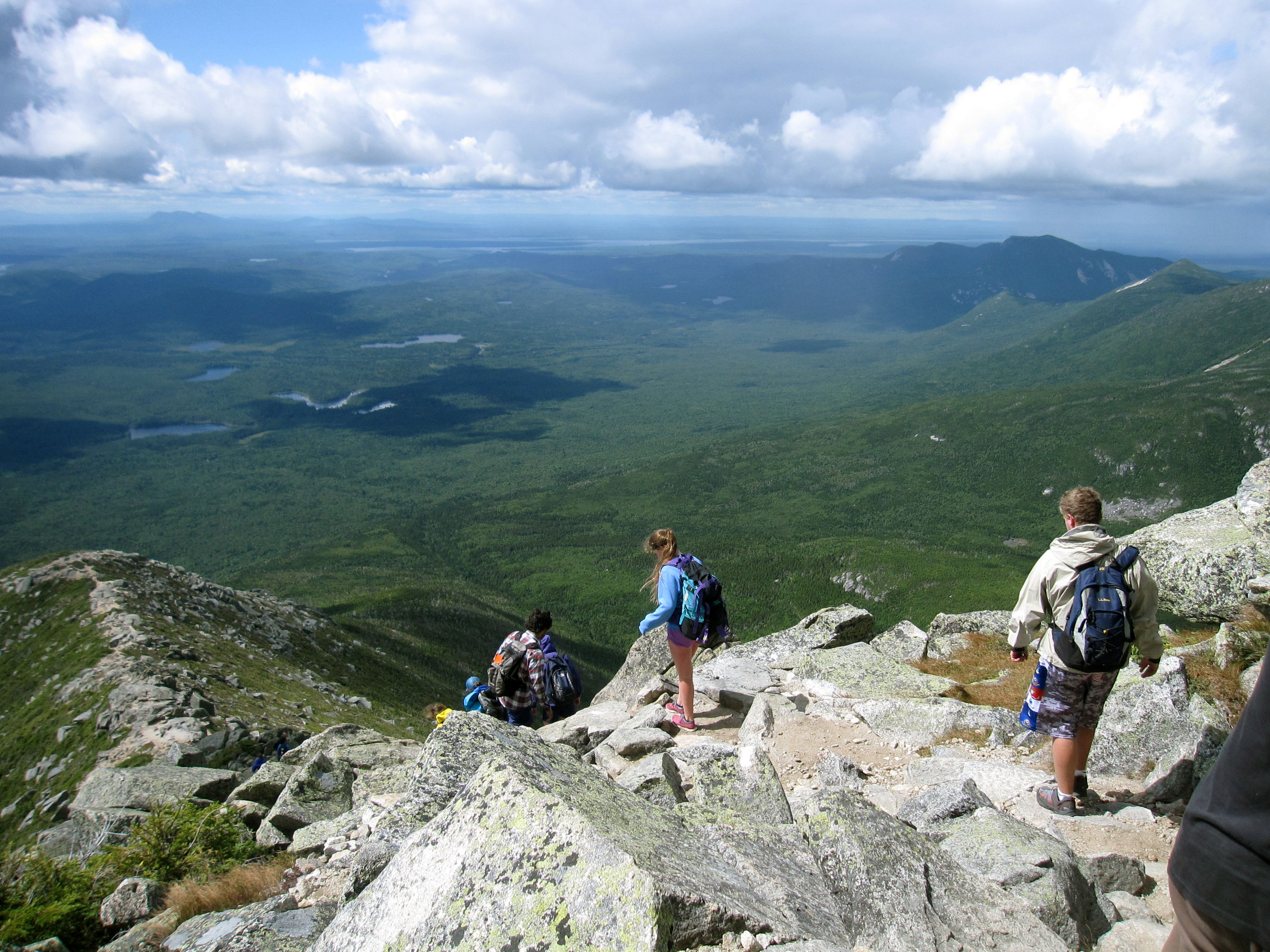 Climbing katahdin in maine this mountain 39 s not for for Montana fish wildlife and parks drawing results