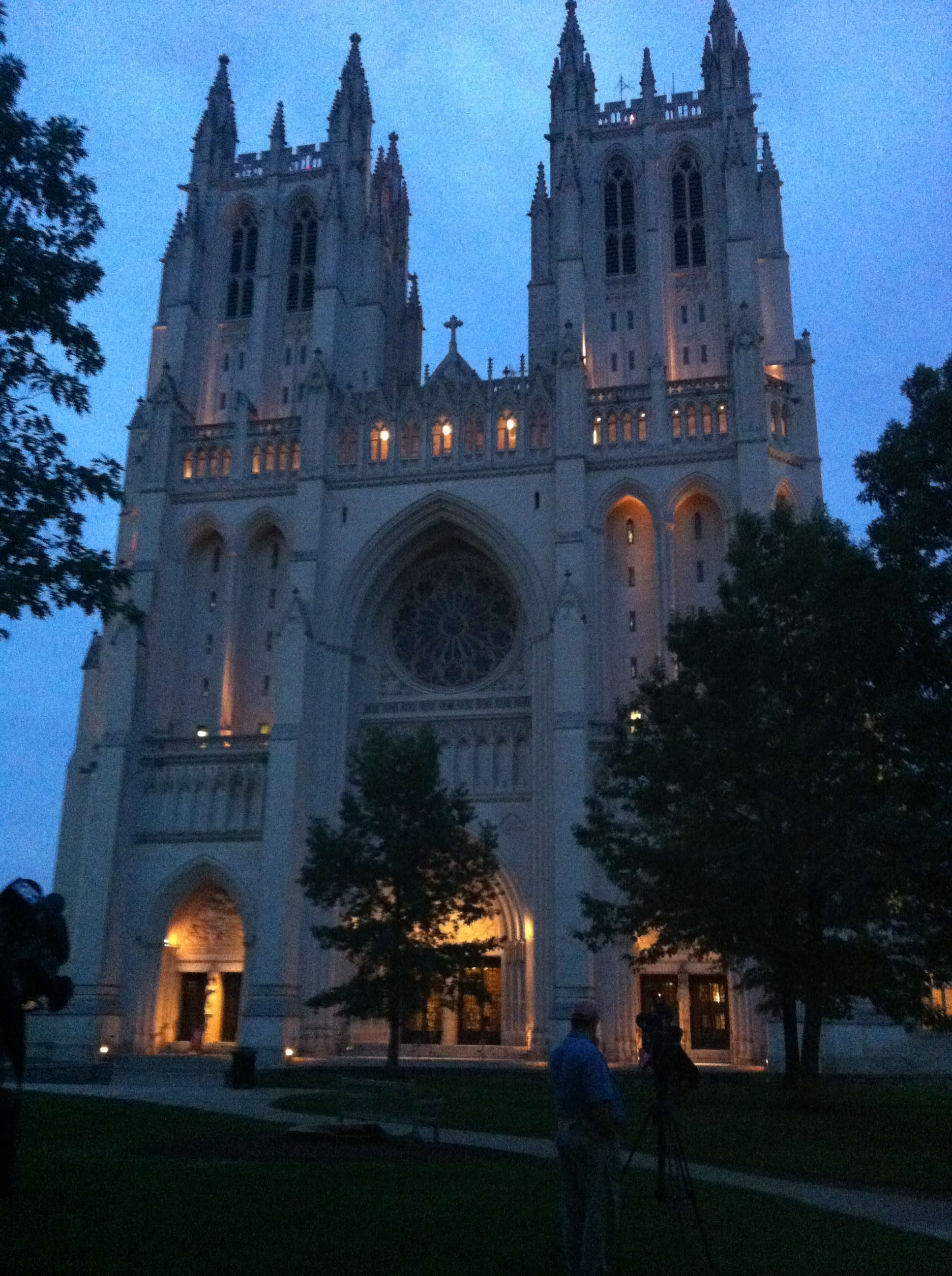 National Cathedral sounds funeral bell for South Carolina church shooting victims