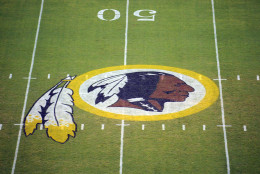 "California is the first state to ban the term ""Redskin,"" which many feel is a racial slur, from being used as a school mascot.  (AP Photo/Nick Wass, File)"