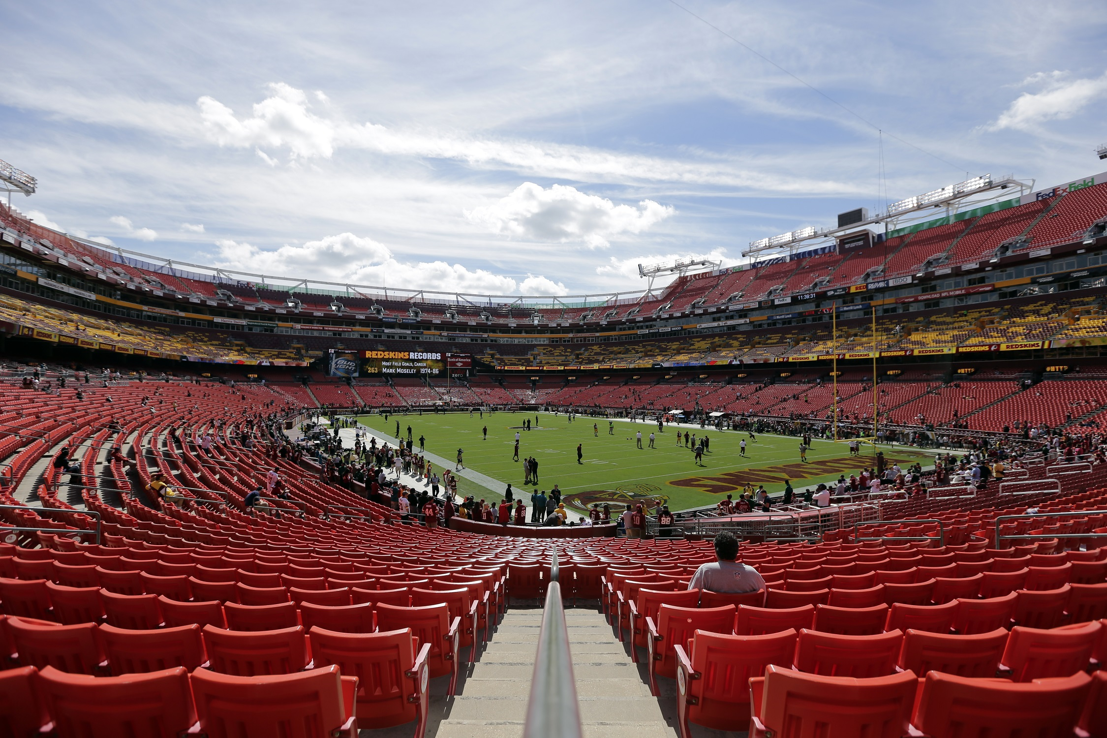 Redskins Remove Thousands Of Seats From Fedex Field