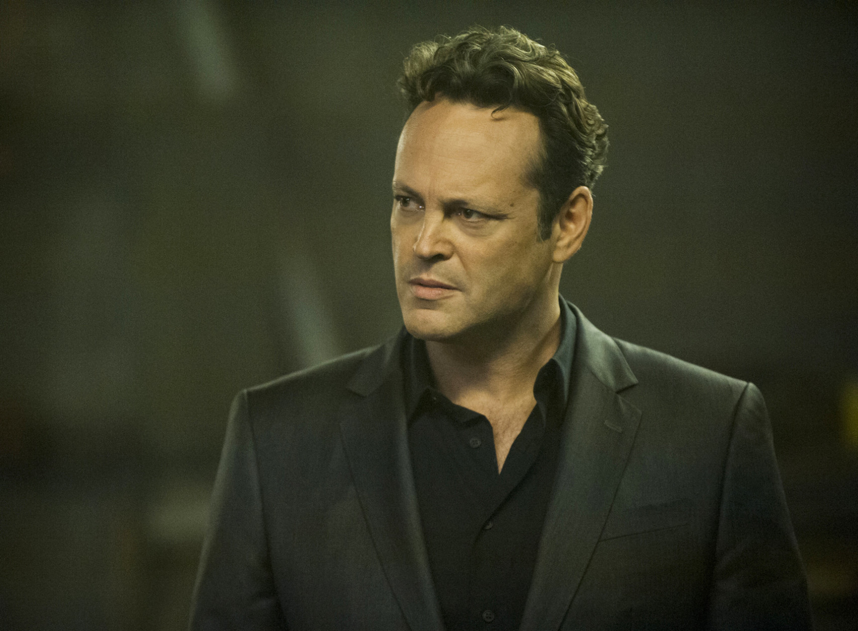 "In this image released by HBO,  Vince Vaughn portrays Frank Semyon, an enterprising but beleaguered mobster, in the second season of the HBO original series ""True Detective,"" airing Sunday at 9 p.m. EDT. (Lacey Terrell/HBO via AP)"