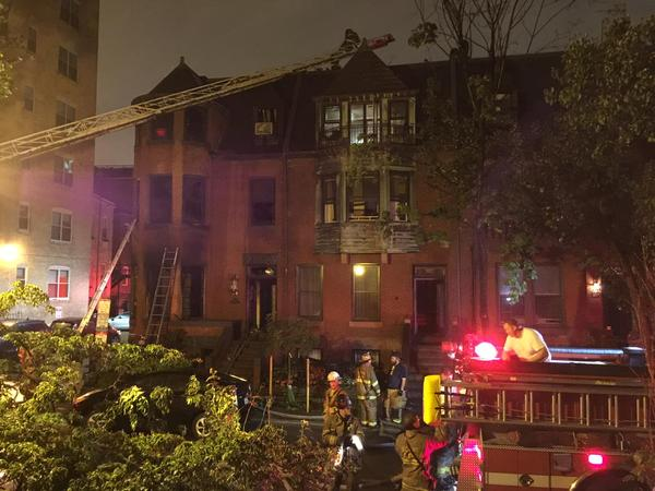 1 ID'd in fatal NW D.C. row home fire