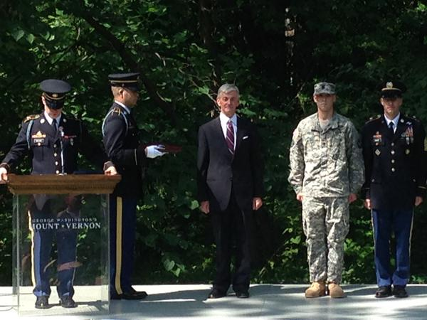 3 soldiers receive Purple Hearts at Mount Vernon