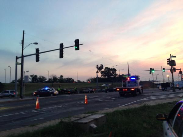 Fatal crash snags Suitland Parkway, one arrested, one at large