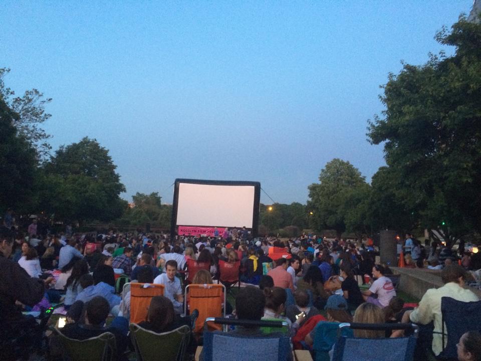 2015 Outdoor Movies: Cinema Under the Stars