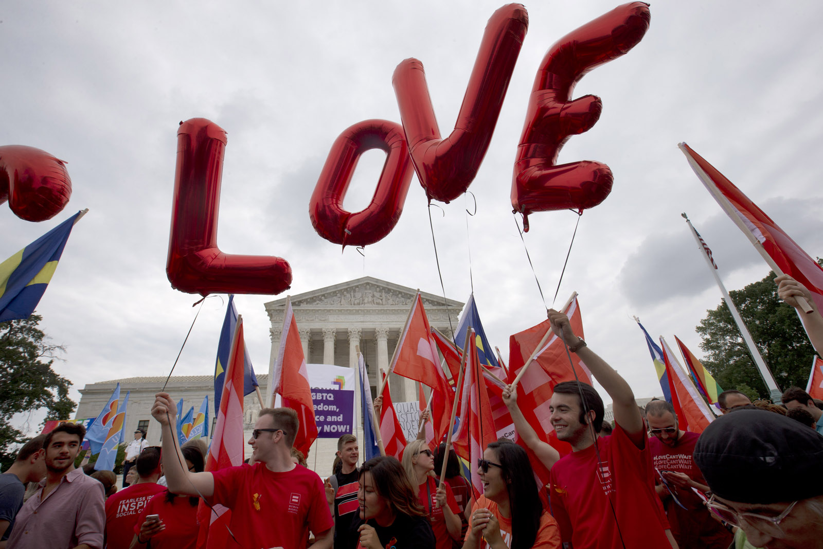 Photos: Supreme Court extends right to marry to all