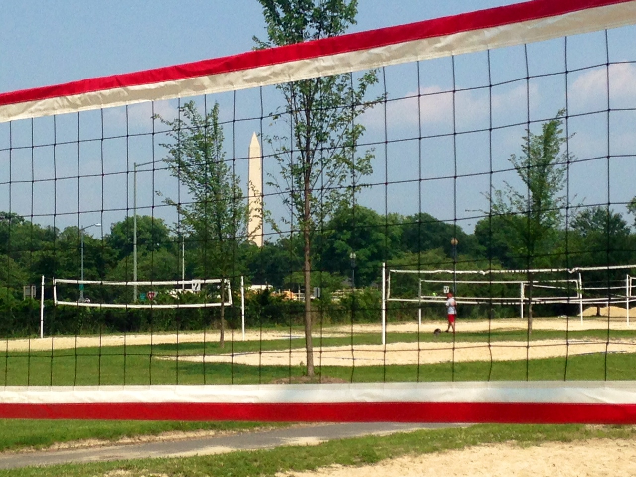 NPS announces new rules for West Potomac Park volleyball courts
