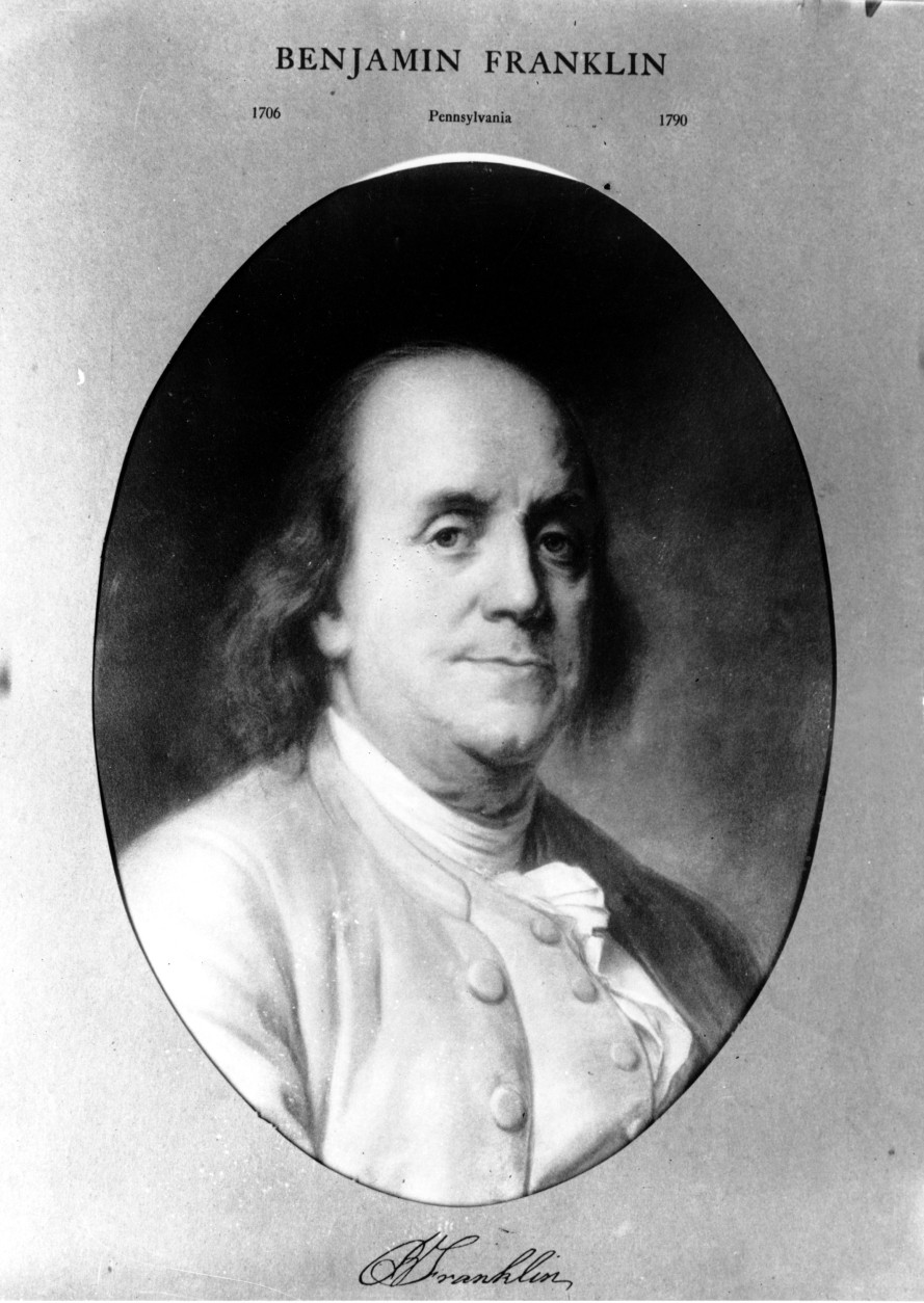 This is an undated picture of a sketch of inventor, scientist and a signer of the U.S. Constitution Benjamin Franklin.  (AP Photo)