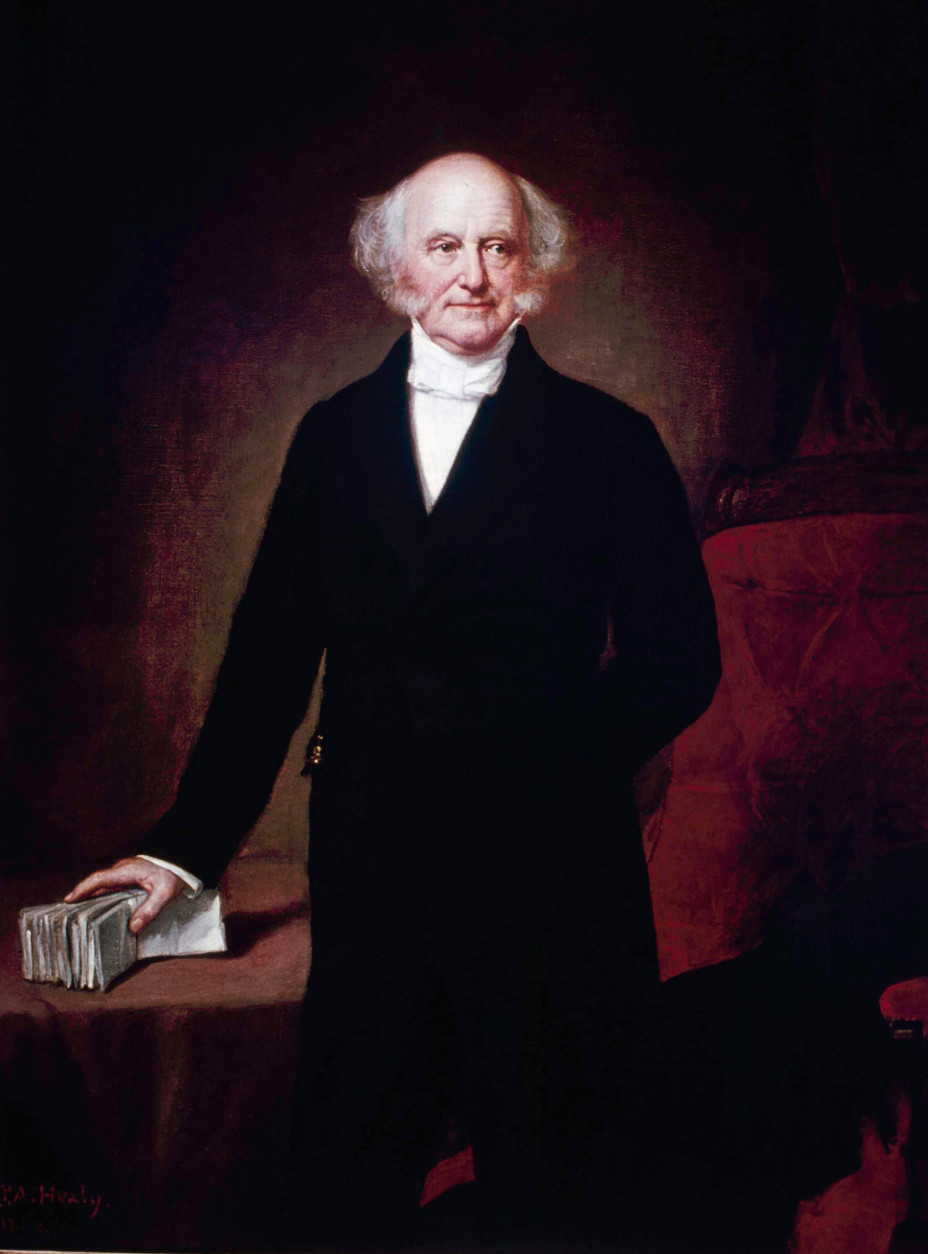 On this date in 1862, Martin Van Buren, the eighth president of the United States, and the first to have been born a U.S. citizen, died at age 79 in Kinderhook, New York, the town where he was born in 1782. (AP Photo)
