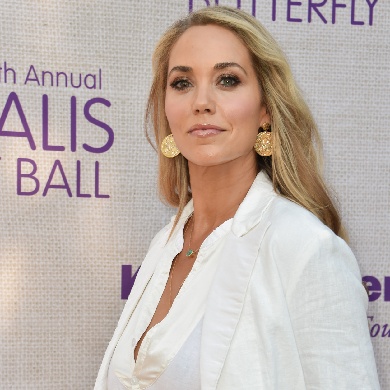 Actress Elizabeth Berkley is 43 on July 28, 2015. Here, Berkley arrives at the 14th Annual Chrysalis Butterfly Ball held at the residence of Susan Harris and Hayward Kaiser on Saturday, June 6, 2015, in Los Angeles. (Photo by Rob Latour/Invision/AP)