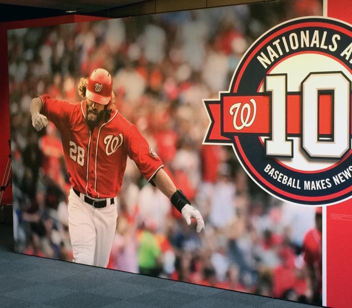 Newseum exhibit honors 10 years of Nats baseball