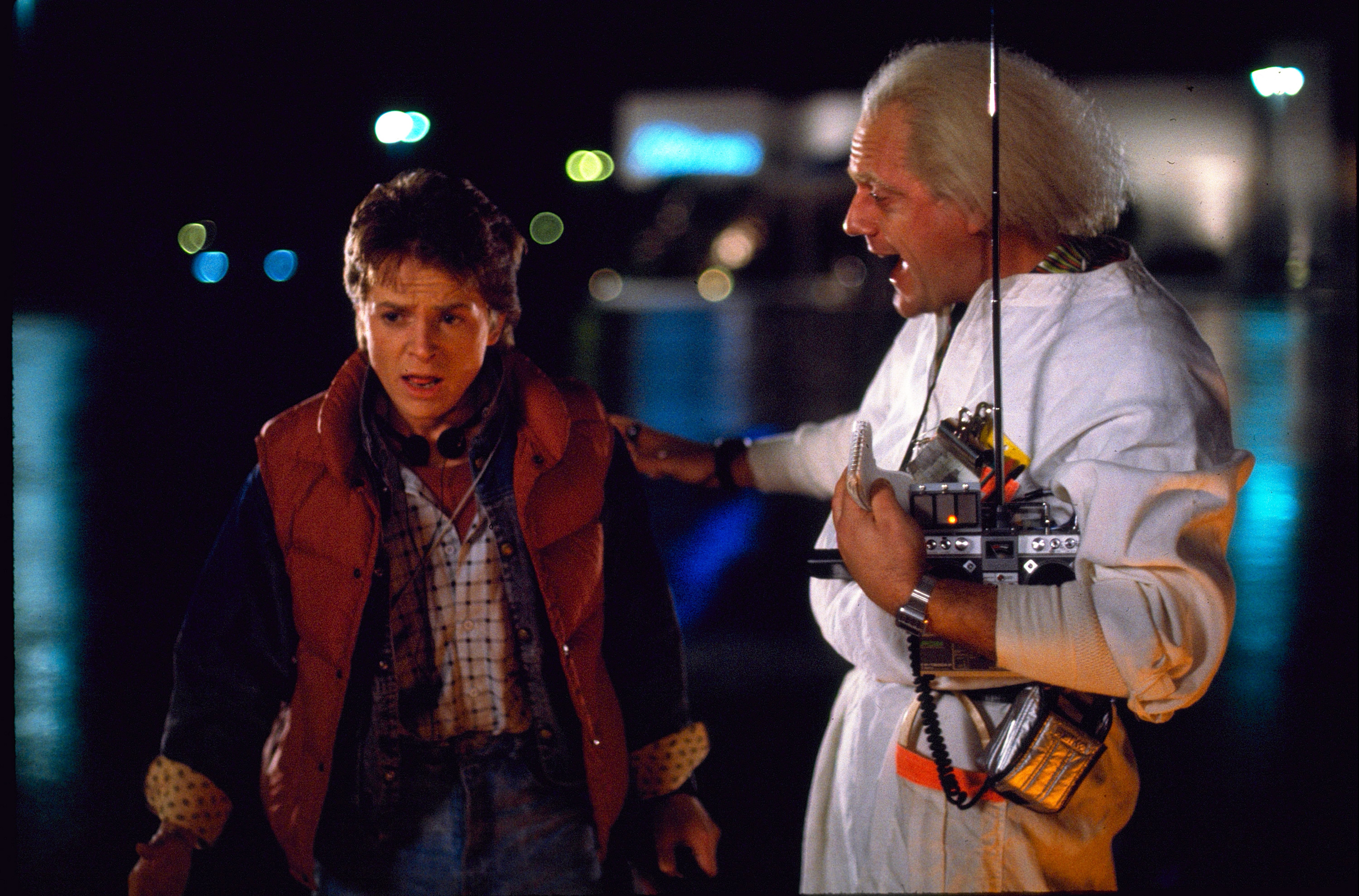 For Back to the Future Day, you can converse with Doc Brown