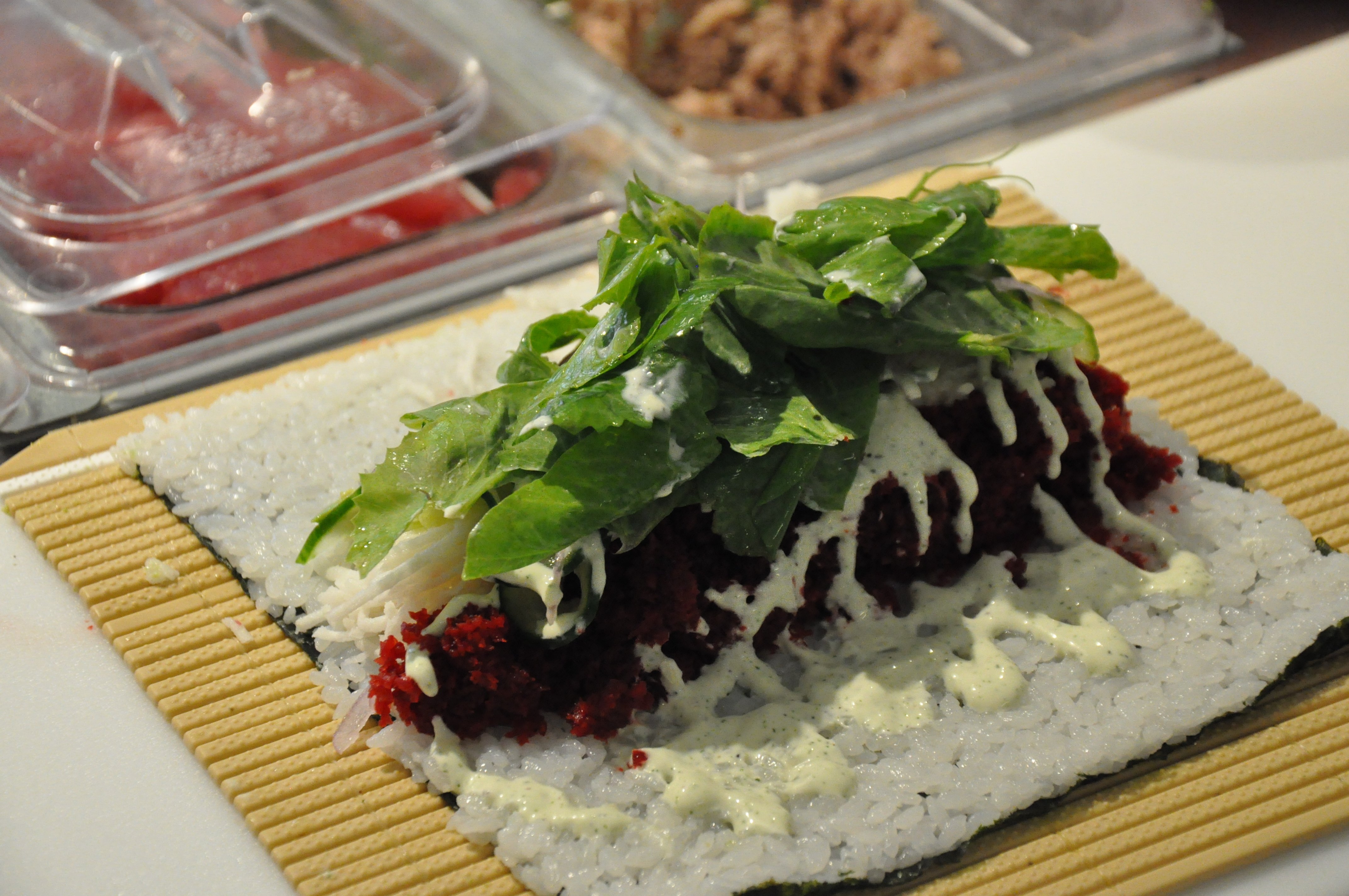 Burrito-sized sushi rolls: The latest lunch craze to hit D.C.