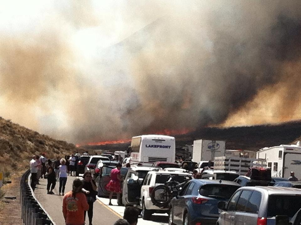 After Calif. wildfire, some drivers burned by tow fees