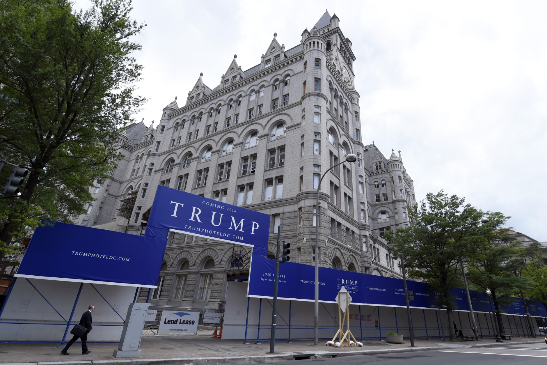 Image result for photos of washington dc trump hotel