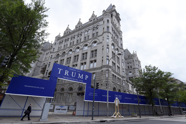 The Trump International Hotel At 1100 Pennsylvania Ave Nw Comes Online After Extensive Renovations To Historic 19th Century Building