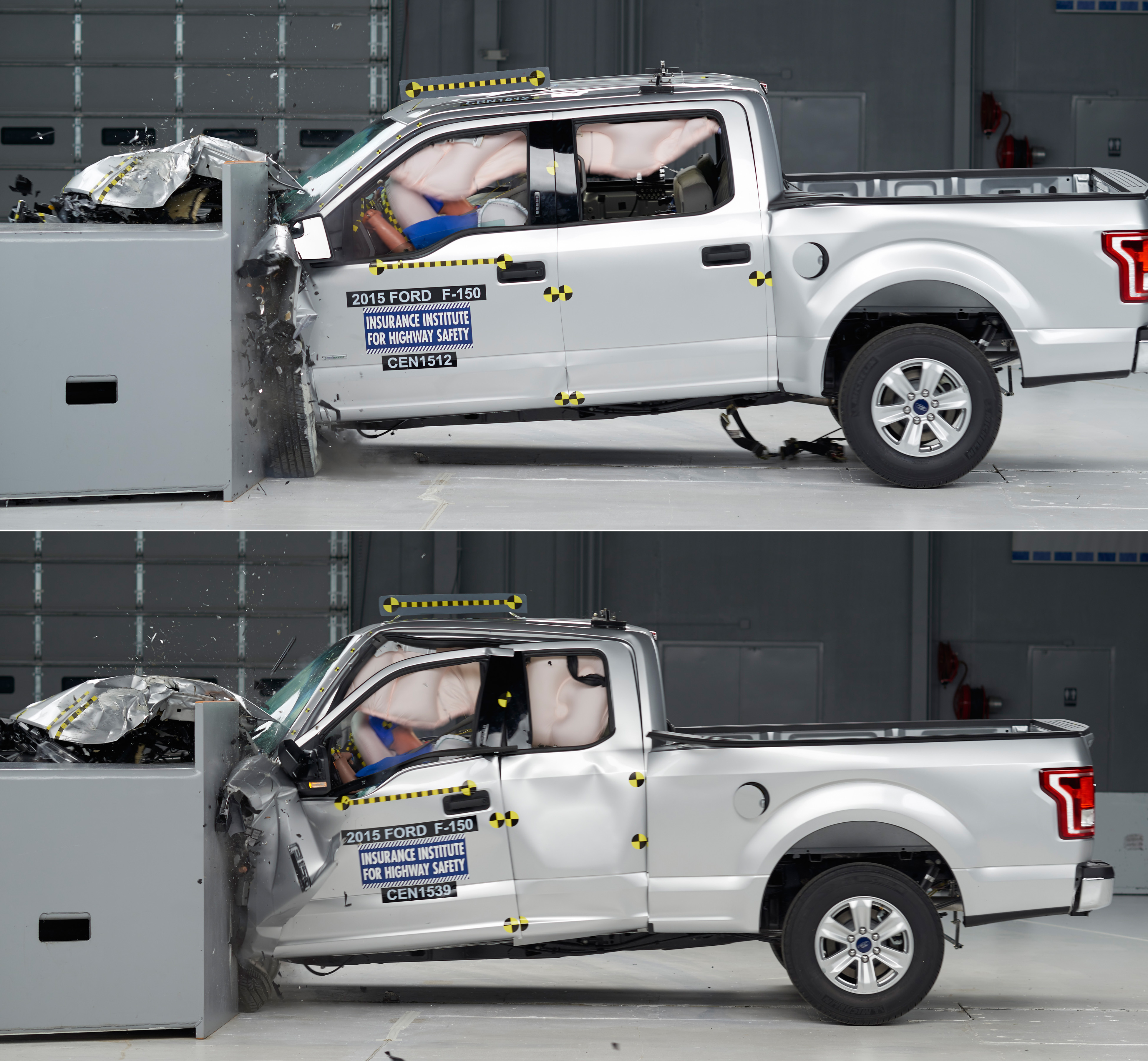 Ford f 150 gets mixed crash test results wtop