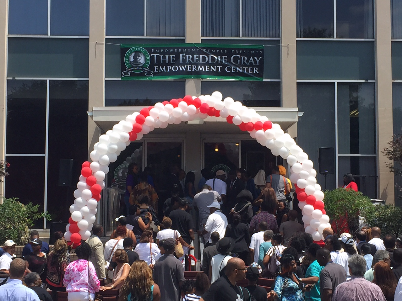 Freddie Gray Empowerment Center opens