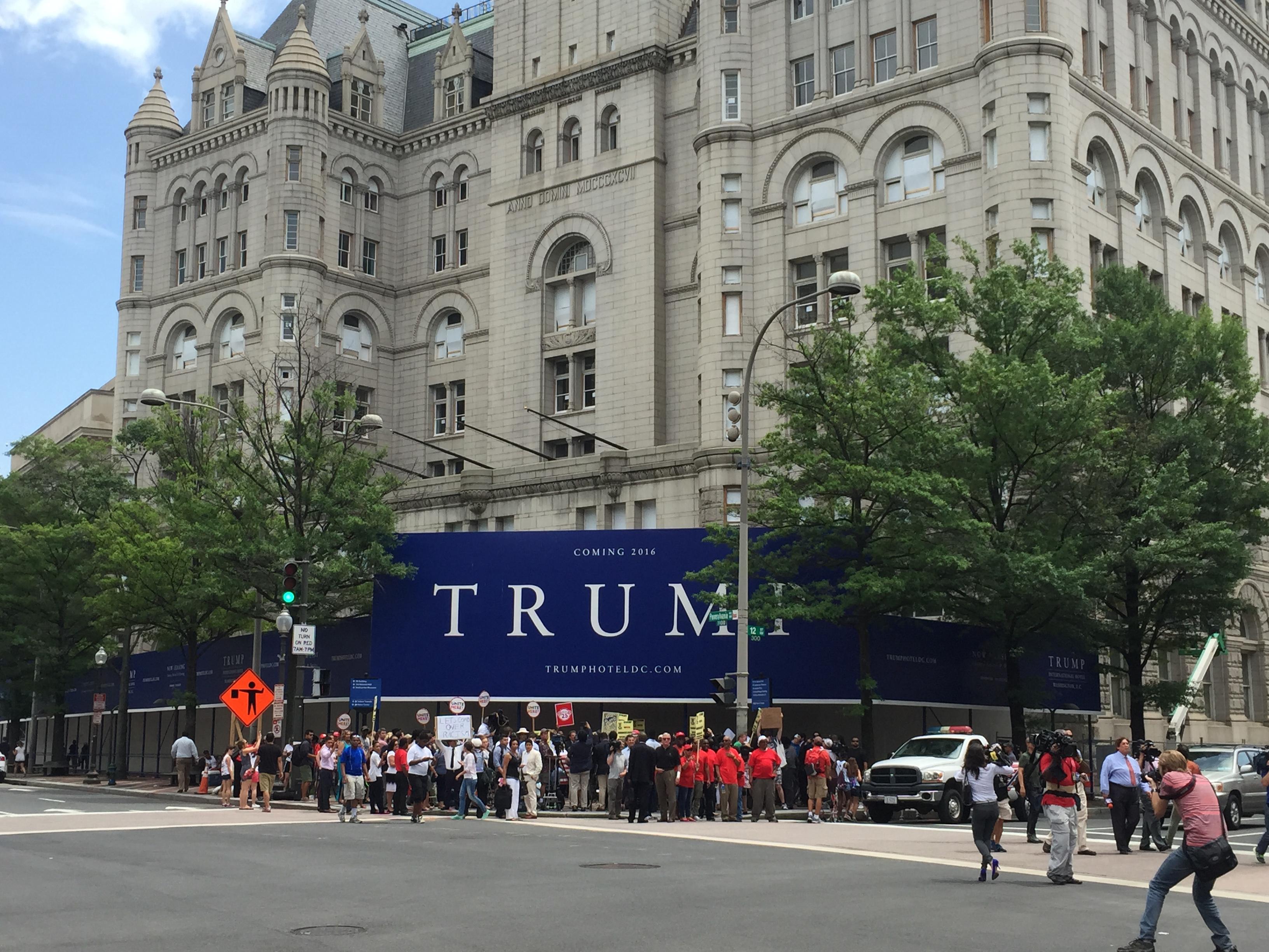 Council member calls D.C. Trump hotel signage into question