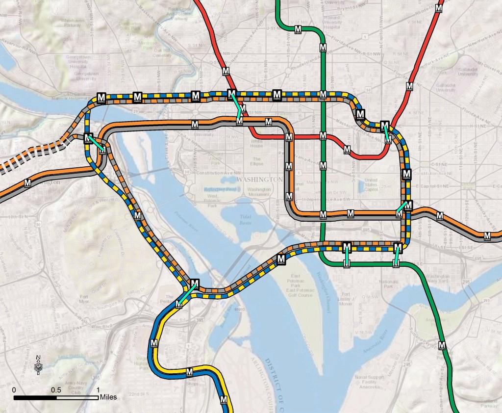 Large-Loop METRO