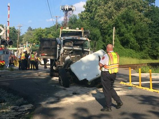 MARC service restored after train crash with truck