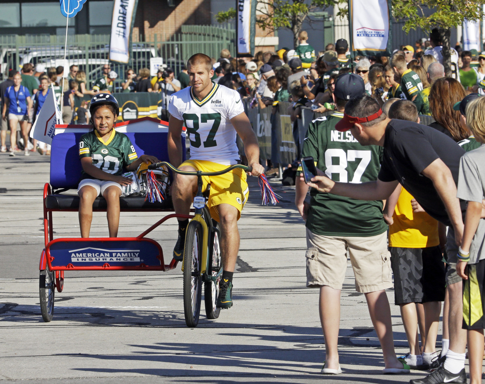 Bikes Green Bay Wis Green Bay Packers Jordy