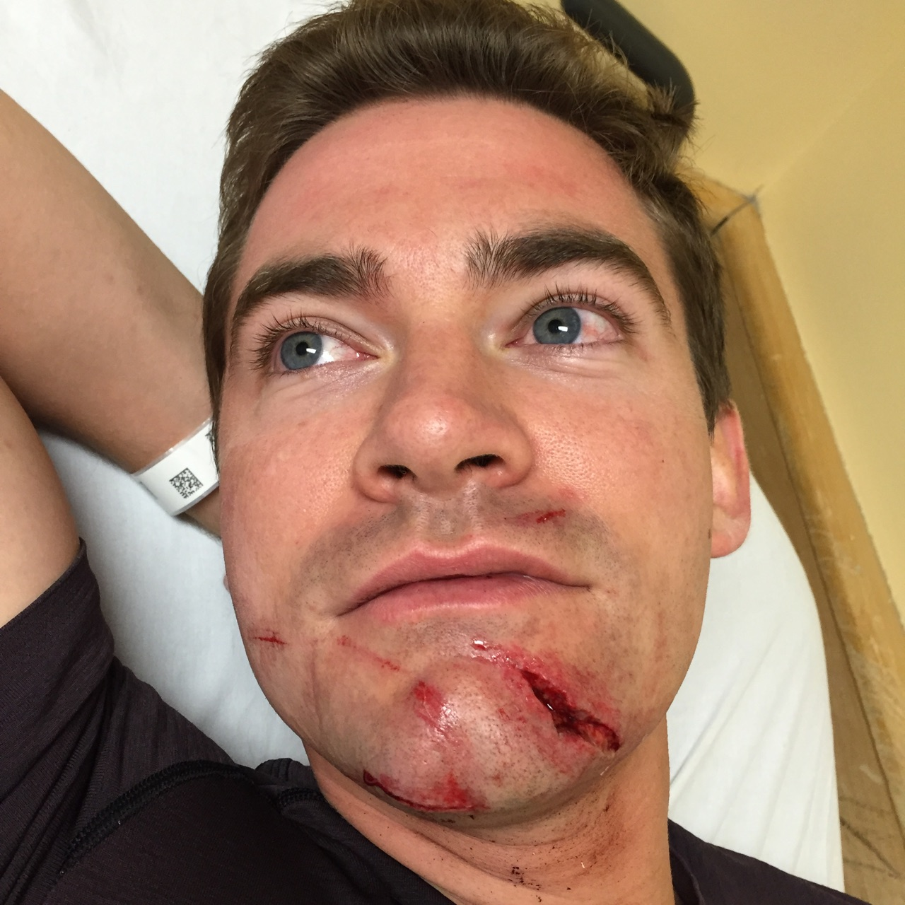Grandson of famed broadcaster recounts slashing attack in D.C.