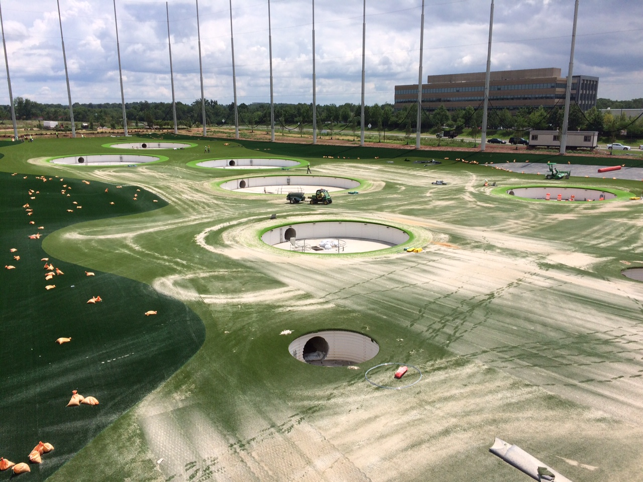 Behind the scenes at the new Topgolf