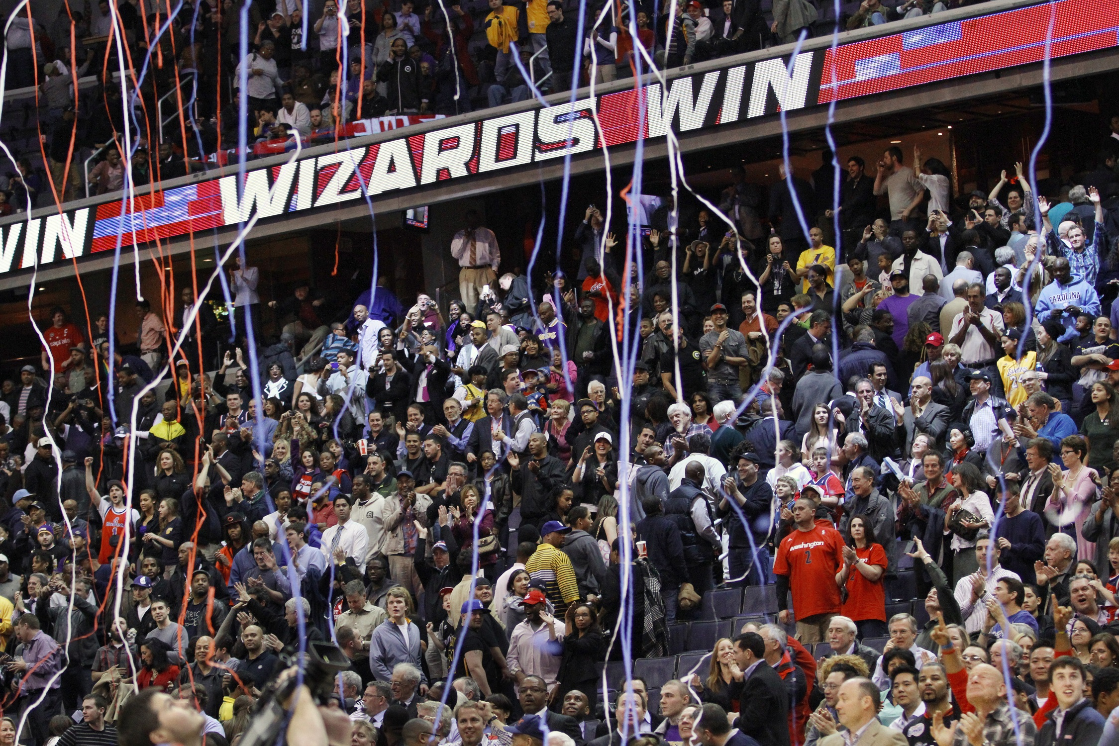 Verizon Center ranks No. 9 nationwide for ticket sales