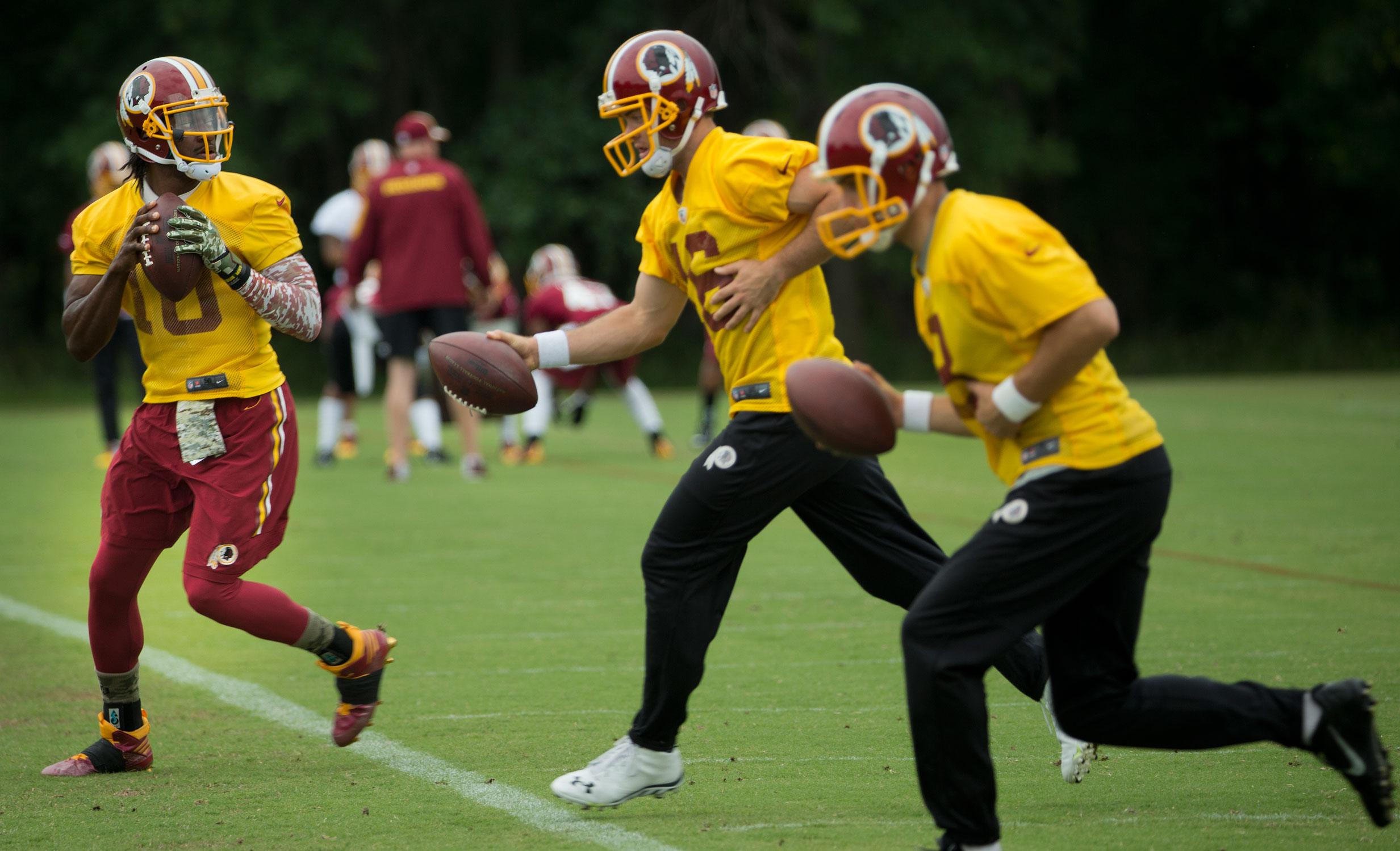 Redskins head to Richmond after good offseason, but with question marks