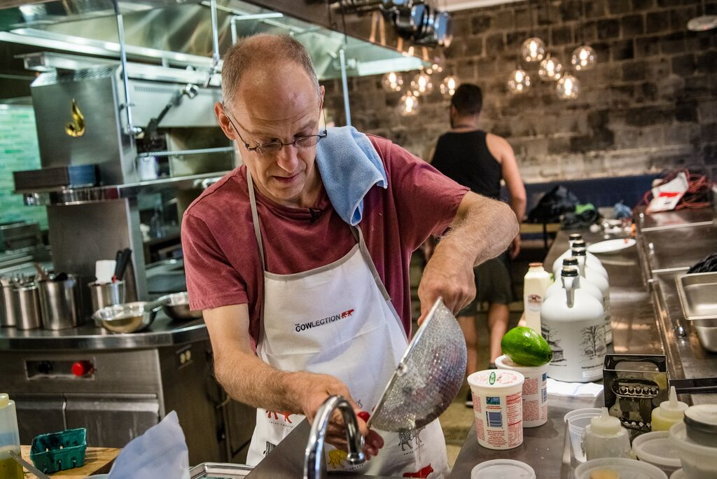 From politics to pancakes: Politico takes on role of 'chef' at Union Market breakfast series