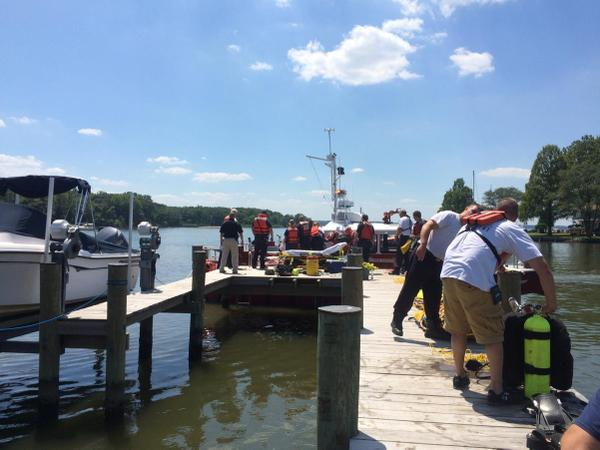 Man dies after falling into Anne Arundel Co. creek