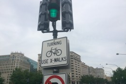 D.C. Del. Eleanor Holmes Norton says a planned bike lane linking Union Station to the Capitol has been blocked to save a few congressional parking spots.  (File, WTOP/Mike Murillo)