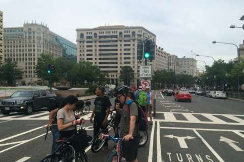 Cyclists create human shield in push for safer bike lanes in D.C.