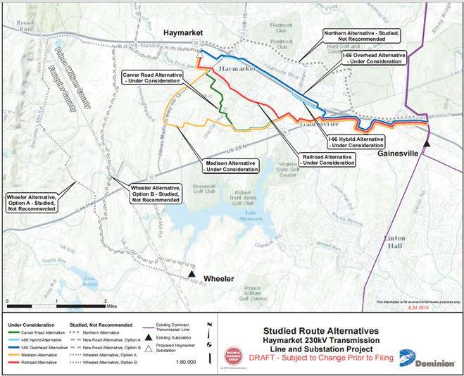 Dominion to share latest on controversial power lines
