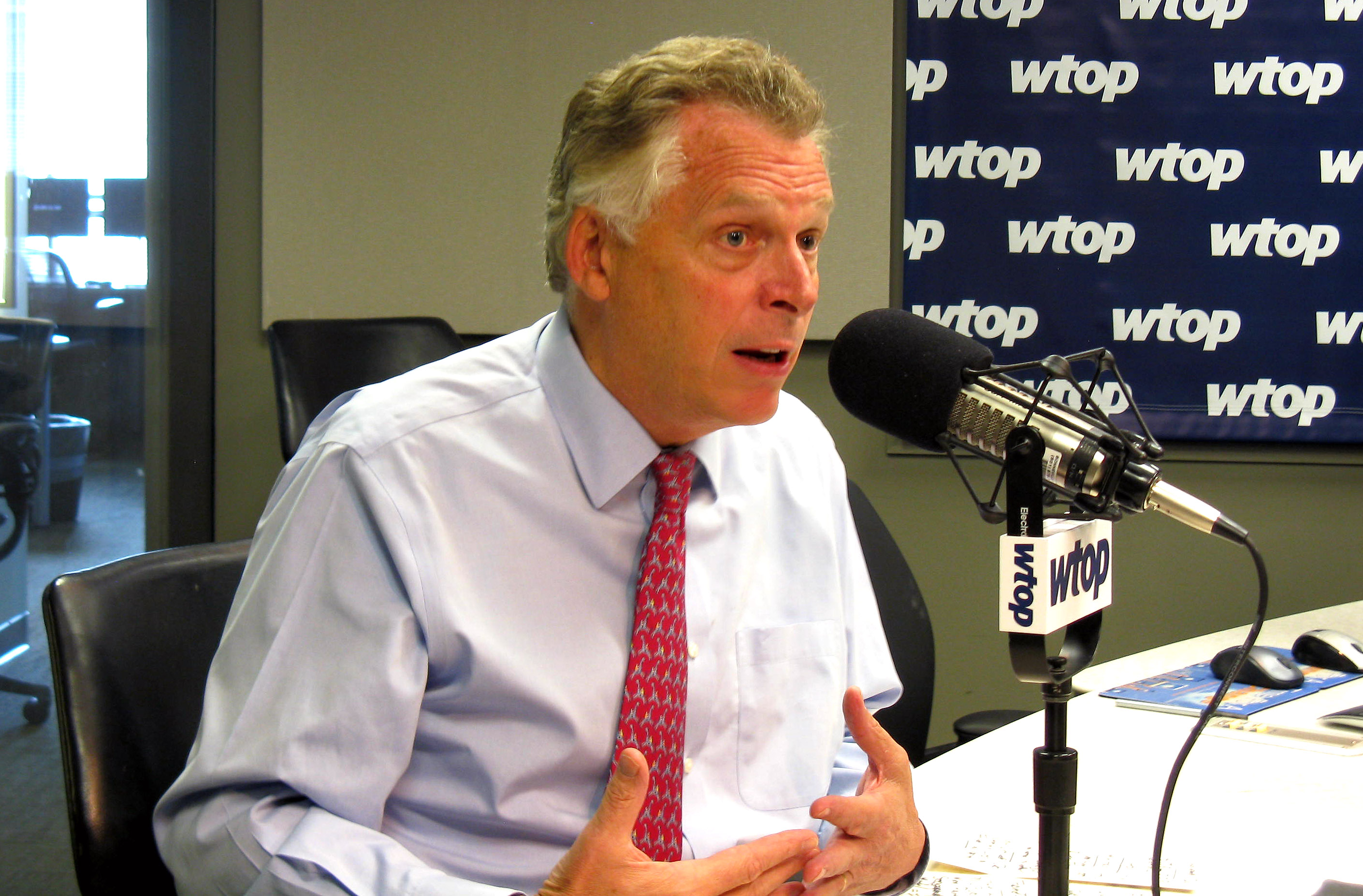 McAuliffe claims out-of-state college applicants take Va. students' spots