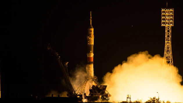 Russian Capsule Docks at International Space Station, Delivers Three Crew Members