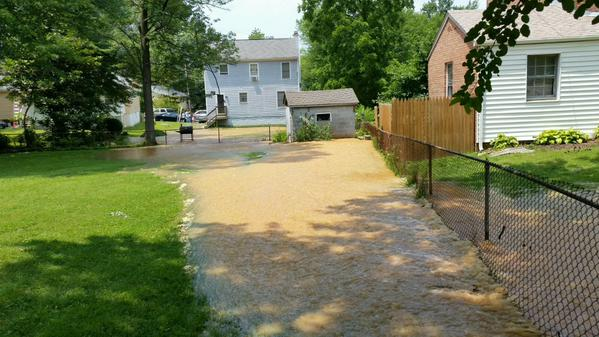Water main break, high water displace Wheaton residents