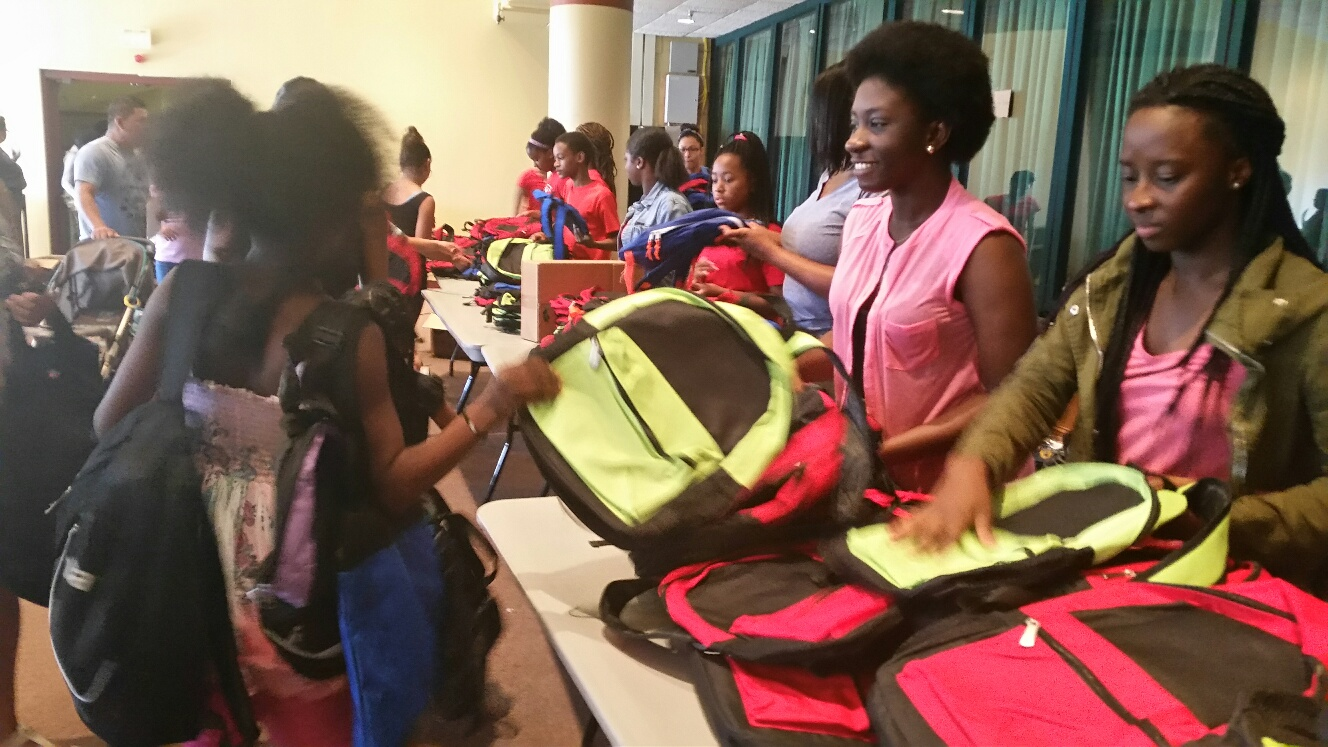 Thousands attend Prince George's County back-to-school fair