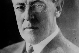 ** FILE ** Portrait of Woodrow Wilson, 28th President of the U.S. from 1913 to 1921. The Woodrow Wilson House, the only presidential museum in the nation's capital, will open an exhibit Saturday, June 3, 2006, in the home where Wilson spent his last few years. The show commemorates Wilson's 150th birthday. (AP Photo/Keystone/File)