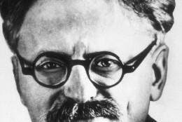 1921 photo of  Soviet influential politician Leon Trotsky. (AP Photo)