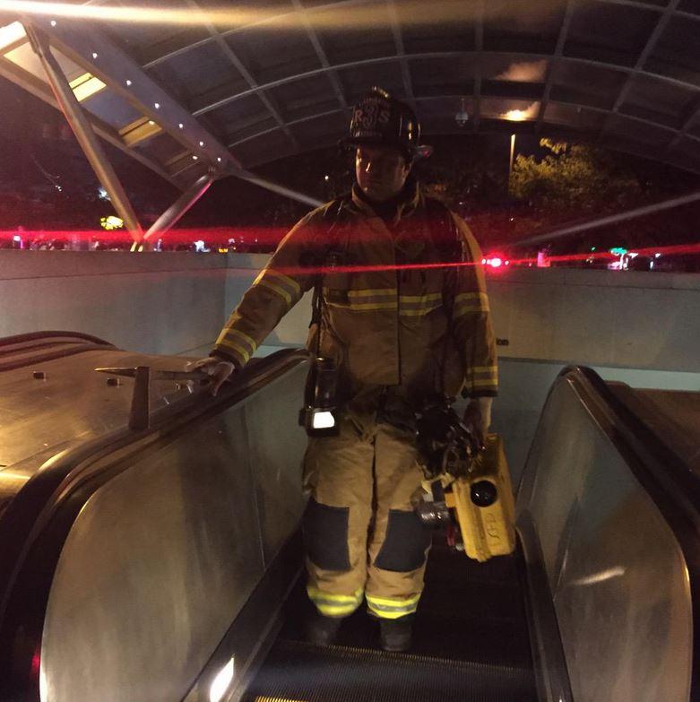 Smoke cleared at Benning Road Metro station