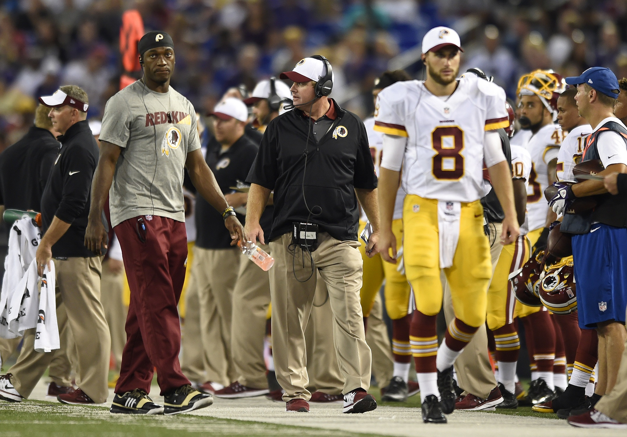 Latest from Redskins Park: 'It's Kirk's team'