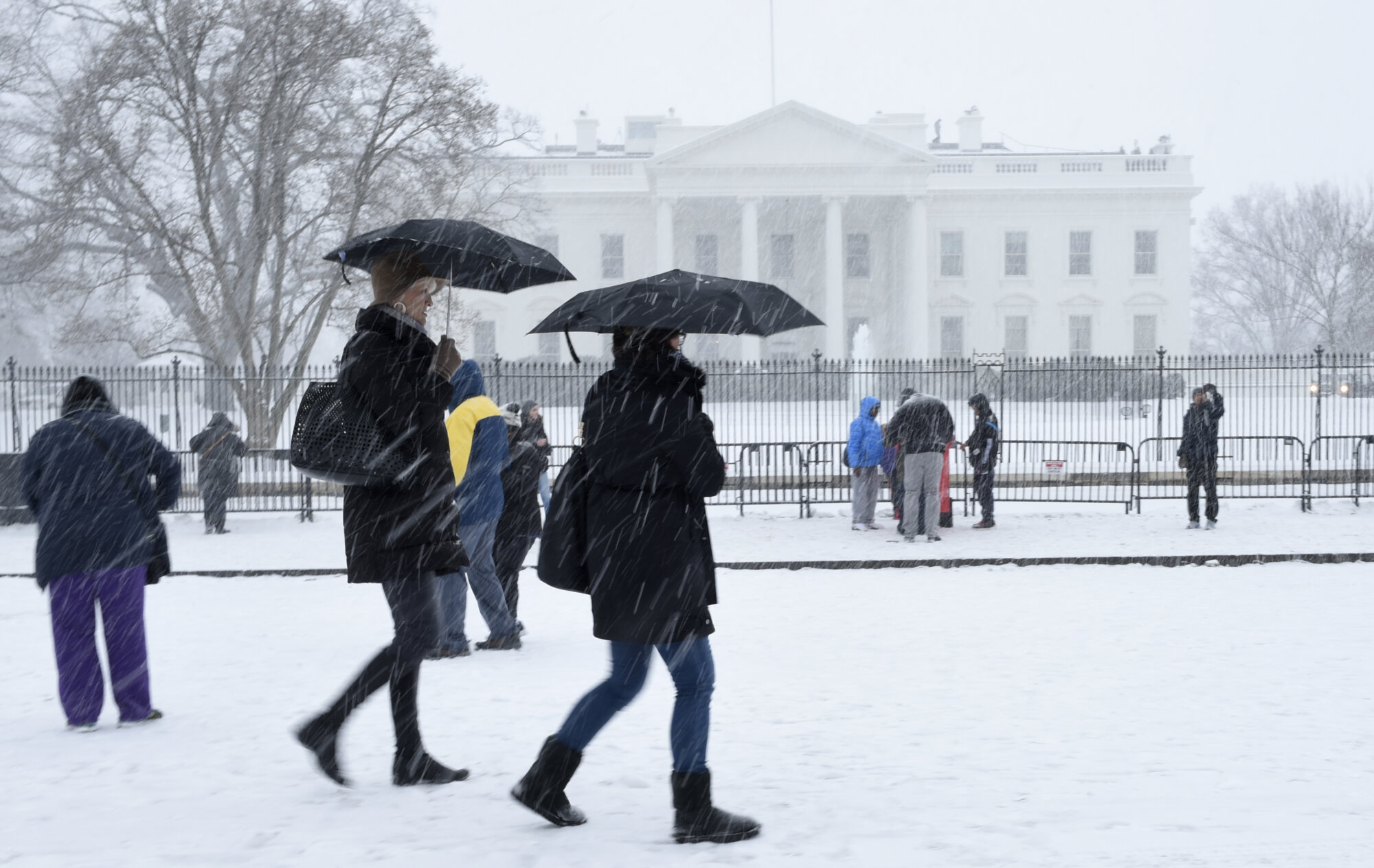 Snow lovers may frown, but road crews rejoice as quiet DC-area winter continues